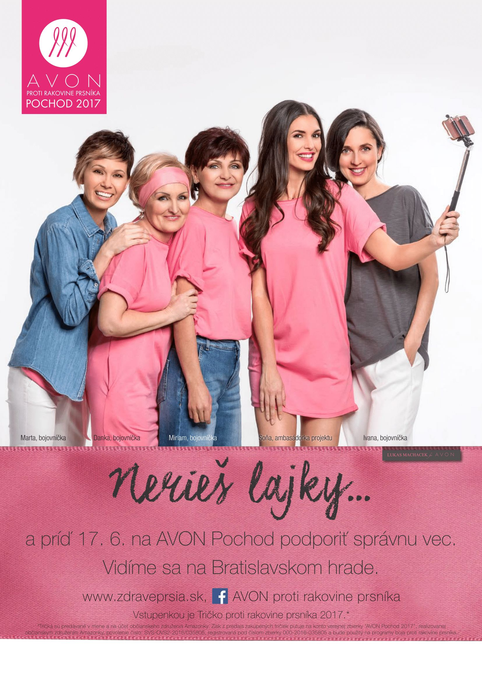 8d43c59e68d8 Novinky – AVON proti rakovine prsníka